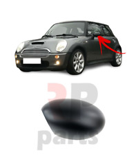 FOR MINI COOPER ONE CABRIO 01-07 NEW WING MIRROR COVER CAP FOR PAINTING LEFT