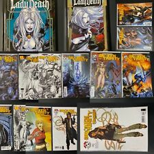 BROKEN TRINITY (Witchblade) comic lot - 13 boarded/bagged Top Cow Comic Books