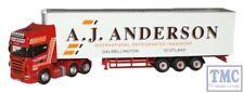 SCA05FR Oxford Diecast 1:76 Scale A J Anderson Scania Fridge Scania