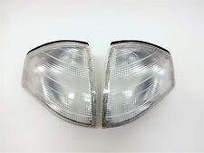 MERCEDES BENZ R129 CLEAR EURO TURN SIGNAL CORNER LIGHTS LIGHT OEM SL500 SL600