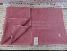 "RALPH LAUREN Luxury Bath Sheet 34x59"" Combed Cotton Pink Large Towel BNWT RRP£49"
