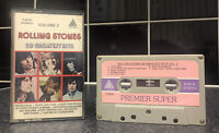 Rolling Stones - 29 Greatest Hits Volume 2 - Cassette Tape - P-2019 Pyramid