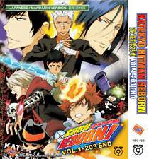 ANIME DVD Katekyo Hitman Reborn Complete TV Series Vol.1-203 End + FREE ANIME