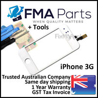 iPhone 3G White Front Glass Touch Screen Digitizer New Replacement LCD Tools Kit