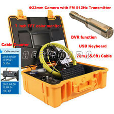 Industrial Endoscope Drainage Camera Transmitter Meter Counter Pipe Inspection