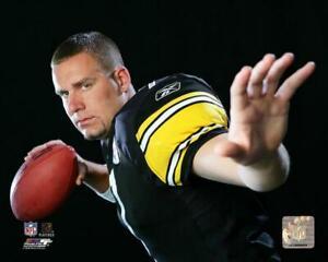 BEN ROETHLISBERGER 2005 Posed 8X10 PHOTO Pittsburgh Steelers