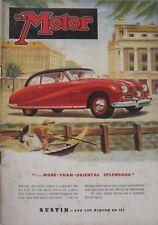 Motor magazine 2 January 1952 featuring Allard M2X Drophead Coupe road test