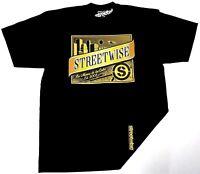 STREETWISE OSCURA T-shirt Streetwear Tee Men L-4XL Black NWT