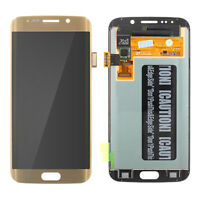 Samsung Galaxy S6 Edge LCD + Digitizer G925 With Frame Blue White Gold