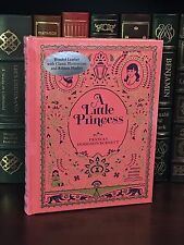 A LITTLE PRINCESS by FRANCES HODGSON BURNETTE Illustrated, Leatherbound & NEW!