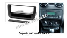 Marco de montaje radio  AUDI A1 soporte embellecedor con cajetín portaobjetos