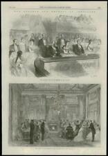 1868 FRANCE Compiègne Imperial Box THEATRE DU PALAIS (177)