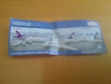 Airbus A380 mit neutralem BPZ + Aufkleber auf Folie aus Duty Free NEU