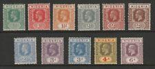 Nigeria 1921-32 George V Set to 6d SG 15-25 Mint.