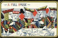 Anglo Poker Playing Card Series #683 c1910 Postcard #1
