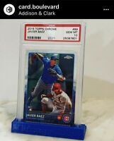 2015 Topps Chrome Javier Baez ROOKIE RC #89 PSA 10 GEM MINT 📈