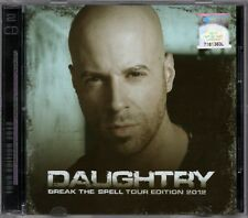 DAUGHTRY Break The Spell Tour Edition 2012 MALAYSIA DELUXE EDITION CD + DVD SET