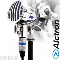 Professional Retro Harmonica Instrument or Vocal Dynamic Microphone - Blue BNIB