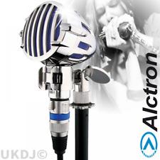 Professionnel Rétro Harmonica Instrument ou Vocal Microphone dynamique-Bleu Entièrement neuf dans sa boîte