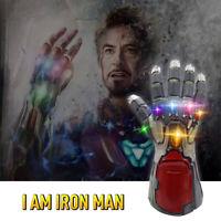 Avengers Endgame Infinity Gauntlet Cosplay Iron Man Tony Stark Glove Costume K2a