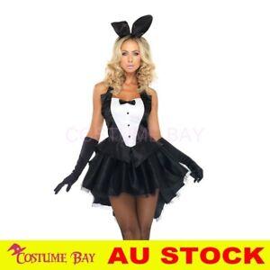 Tuxedo Playboy Easter Bunny Rabbit Fancy Dress Hens Night Halloween Tutu Costume