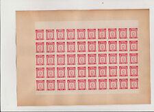 PUBLICITE ANCIENNE 50 TIMBRE- PRIME/FER A CHEVAL PORTE-BONHEUR/LE FETICHE/TREFLE
