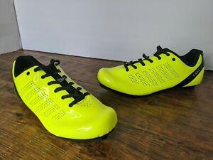 Louis Garneau L.A. 84 Cycling Shoes Bright  Yellow w/ Black Men's 40 US 7