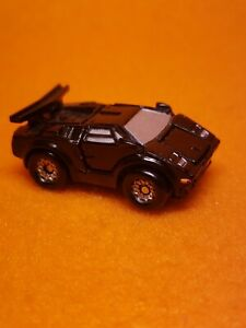 Micro Machines Deluxe Lamborghini Countach with openning Doors Trunk & Hood 1988