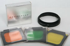 Hasselblad Lens Mounting Ring 70mm with 3 filters