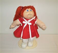 Vintage Cabbage Patch Kids Doll Red Hair Beautiful