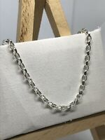 Genuine 925 Sterling Silver 3mm Belcher Chain Necklace Men Women BRAND NEW