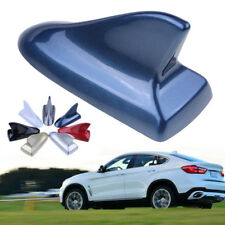 Universal Blue Shark Fin Decorative Dummy Roof Antenna Aerial Decor for BMW VW