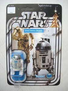 Vintage STAR WARS R2D2 R2-D2 CUSTOM Droid on New Hope Style Card