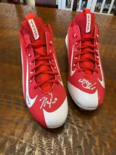 Mike Trout Dual Signed Nike Cleats Shoes Psa Dna Coa Angels Autographed