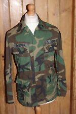 Small US Army Combat Coat Woodland Camouflage by Vanderbilt Shirt Co. Ltd 1981