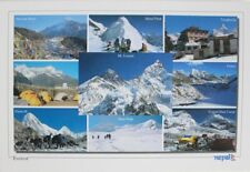 The Trail of Everest Nepal Postcard