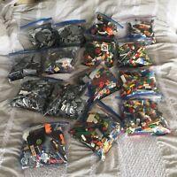 2 POUNDS OF LEGOS Bulk lot Bricks parts pieces - 100% Lego Star Wars, City, ~Etc