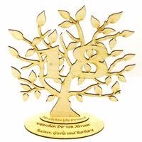 Jubiläums Baum zum 18 Geburtstag Personalisiert 28 cm,Geschenk, Lebensbaum