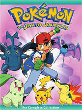 Pokemon ~ The Johto League Journeys Complete Collection BRAND NEW 4-DISC DVD SET
