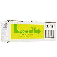 ORIGINALE KYOCERA TK-540Y TK540Y Giallo 1T02HLAEU0 FS-C5100DN NUOVO a-Ware