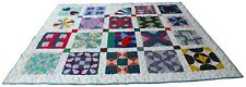 """Lovely Quilt • new • white quilted back • 63"""" x 76"""""""