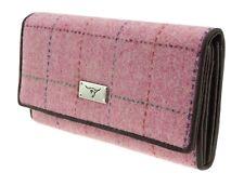 Ladies Genuine Harris Tweed Long Wallet Purse Tiree LB2106 COL68