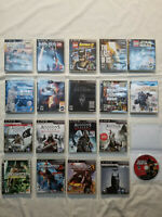 PS3 PlayStation 3 Video Game Lot 19 Games MASS EFFECT+UNCHARTED+ASSASSIN'S CREED