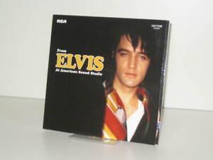 "2 CD Elvis Presley - From Elvis At American Sound Studio (2013 FTD 7"")"