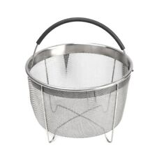 Stainless Steel Steamer Basket With Handle For Instant Pot 6Qt 8Qt Pressure Cook