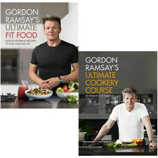 Gordon Ramsay Ultimate Fit Food Cookery Course 2 books collection set pack NEW