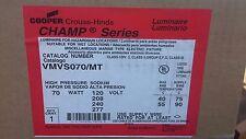 Cooper Crouse-Hinds VMVS070/MT Champ 70W High Pressure Sodium LuminareVMW Series