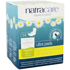 Natracare Natural Ultra Pads with Wings, Regular 14 ea