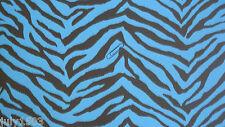 NextWall TWN32301 Wallpaper Blue Zebra prepasted next wall new Free Ship