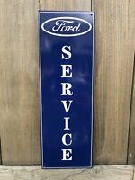 Ford Service Mechanic Garage Metal  Gasoline Gas sign Pump Oil